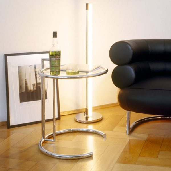 Original Classicon Adjustable Table E 1027 schwarz tisch wohnenschlafen-shop.de