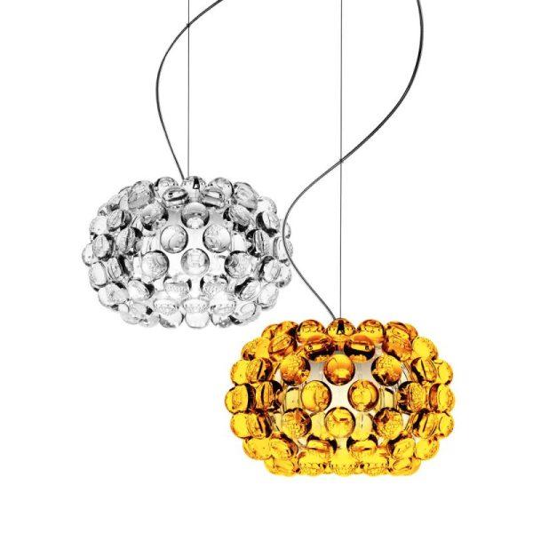 foscarini-caboche-sospensione-piccola-pendelleuchte-transparent-gold