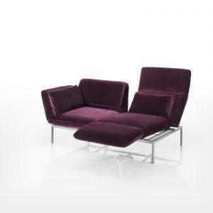 Roro Soft von Brühl ist eine sinnvolle Ergänzung des altbewährten Programms. Weiche Sitzpolster sorgen für angenehmen Sitzkomfort.