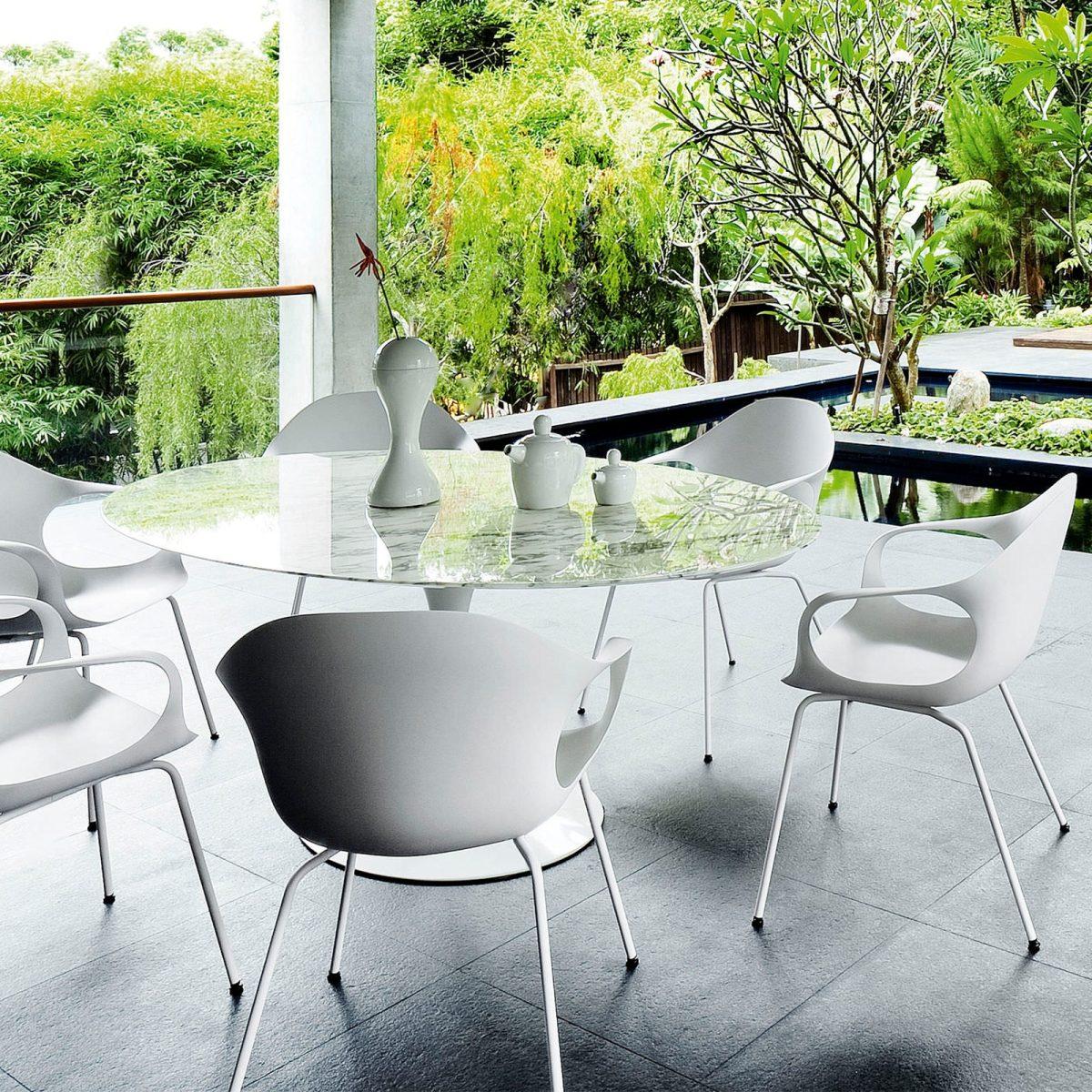 Möbel - Stühle - Elephant Wood Sessel - Kristalia - weiß - Buchenfurnier, lackiertes Polyurhethan