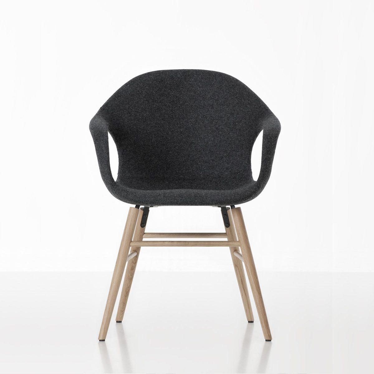 Möbel - Stühle - Elephant Wood Sessel - Kristalia - scwarz - Buchenfurnier, lackiertes Polyurhethan