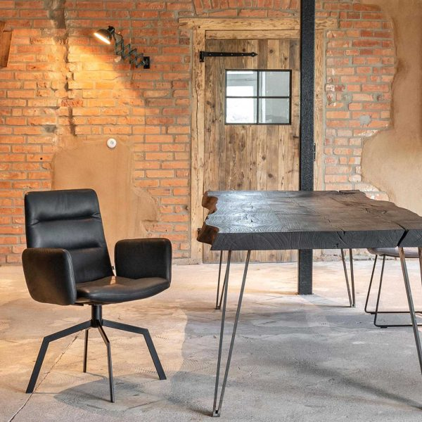 KFF ARVA LIGHT chair with or without armrests designed by KFF | dining | ARVA LIGHT Stuhl mit oder ohne Armlehnen designed by KFF