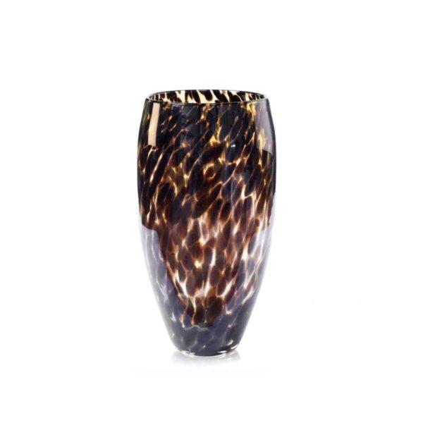 fidrio-leopard-vase-h40-cm