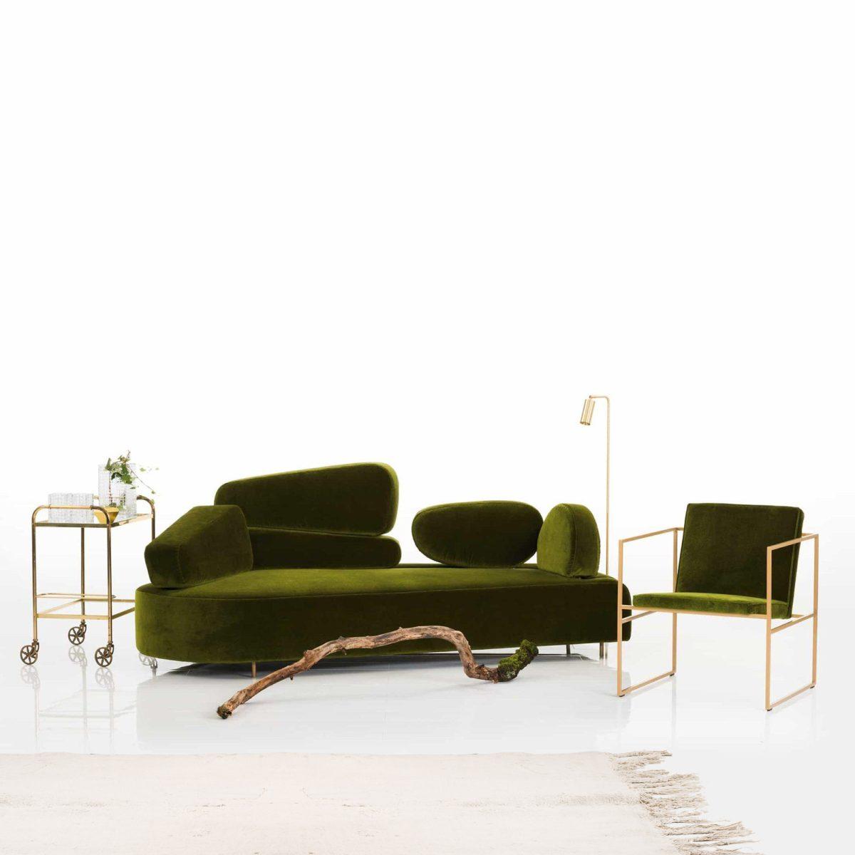 mosspink sofa bruehl